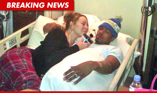 Nick Cannon in the hosptial
