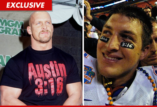 Stone Cold Steve Austin and Tim Tebow