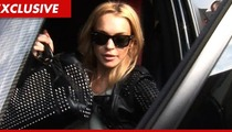 Lindsay Lohan -- Cutting It Close with Probation