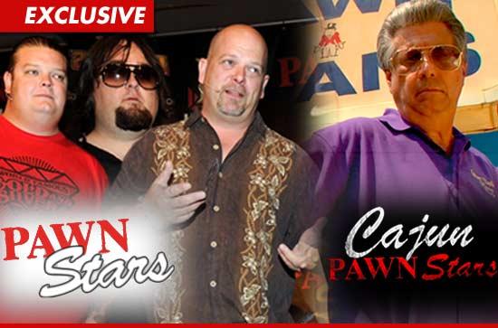 Pawn Stars and Cajun Pawn Stars