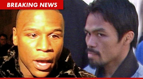 Floyd Mayweather Jr. Challenges Manny Pacquiao