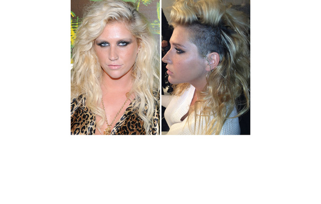 Ke$ha Shaves Her Hair!