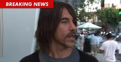 Anthony Kiedis -- My Foot Is So JACKED UP, I Can't Perform ... Yet