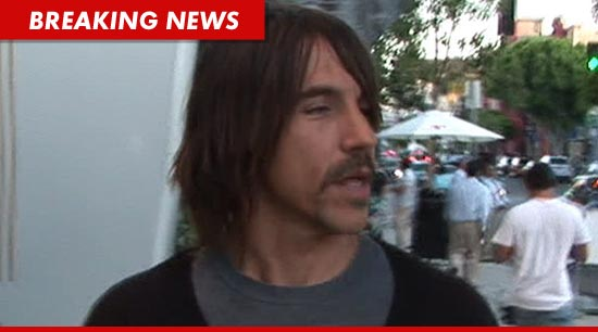 Anthony Kiedis mustache
