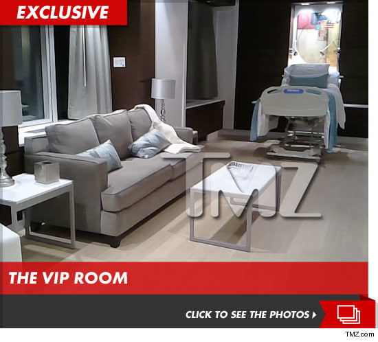 Beyonces hospital room where she birthed Blue Ivy