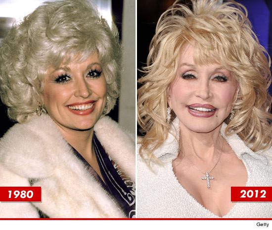 Dolly Parton plastic surgery