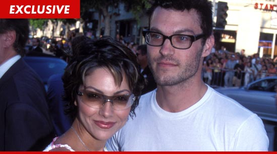 Brian Austin Green and Vanessa Marcil-Giovanazzo
