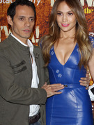 Jennifer Lopez & Marc Anthony Get Affectionate in L.A.