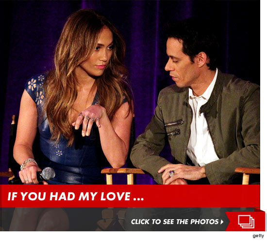 Jennifer Lopez got in a classic post-divorce jab on Marc Anthony