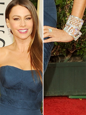 Sofia Vergara Dripping In $5 Million Worth of Jewels