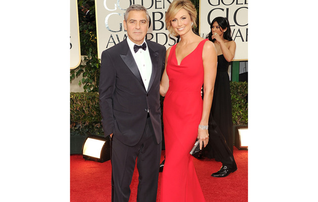George Clooney & Stacy Keibler Stun on the Red Carpet!