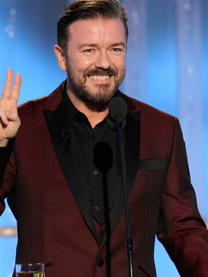 Golden Globes 2012: Host Ricky Gervais' Outrageous Quotes of the Night!