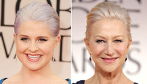 Kelly Osbourne -- Dyeing to Be Helen Mirren