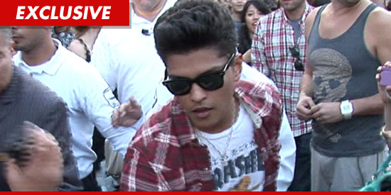 Bruno Mars Hair