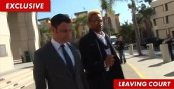 'CSI' Star Gary Dourdan -- Just a Little Reminder from the Judge ... STOP TEXTING YOUR EX!!!