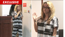 'Teen Mom' Star Jenelle Evans -- Shackles and Stripes in Court