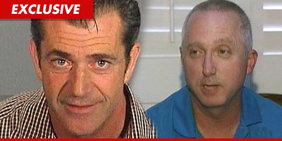 Mel Gibson and Deputy James Mee