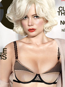 Michelle Williams Strips, Gets Emotional Over Heath Ledger
