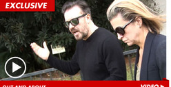 Ricky Gervais -- My Jodie Foster Jab Wasn't Offensive ... Was It?