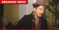 Bruno Mars' Cocaine Charge Dismissed -- FREE AT LAST!!!