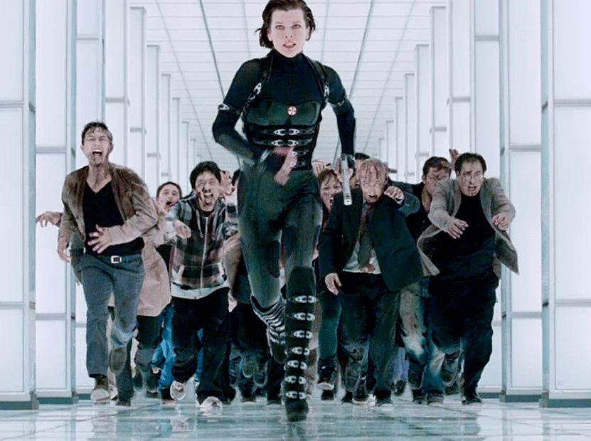 Resident evil retribution flying monsters