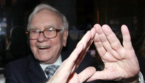 Warren Buffett -- Big Pimpin' at Jay-Z's NYC Nightclub