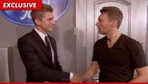 'American Idol' Castoff -- Stealing Ryan Seacrest's Identity ... For Money