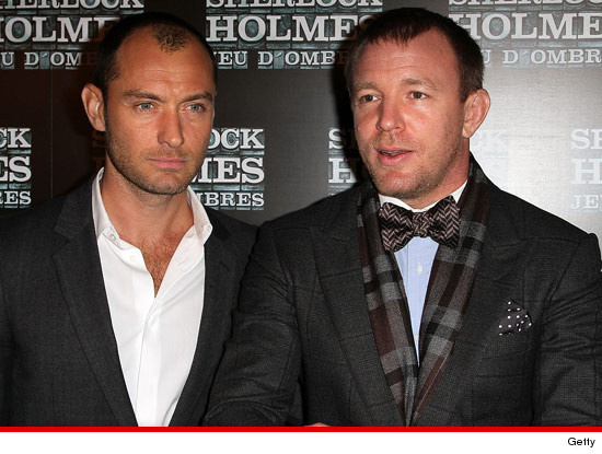 Jude Law vs. Guy Ritchie