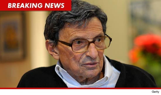 Joe Paterno dies at the age of 85