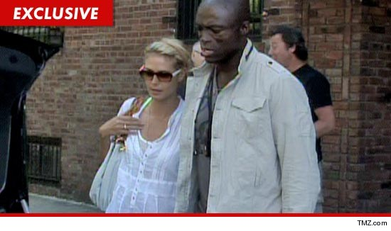 Heidi Klum and Seal