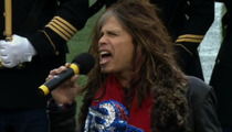 Steven Tyler's National Anthem -- Did It Suck?