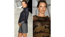 Alessandra Ambrosio Hits Runway 5 Months Pregnant!