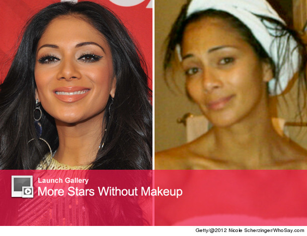 Nicole Scherzinger no makeup