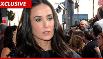 Demi Moore's Seizure-Like Crisis After Inhaling Nitrous Oxide -- Whip-its