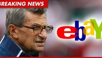 Joe Paterno -- eBay PULLS Funeral Tickets Over Policy Violation