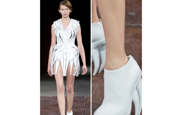 Fierce Fashion: Shoes With ... Teeth?!