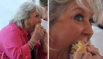 Paula Deen -- Screw Diabetes ... I'm Eating a BURGER!!!
