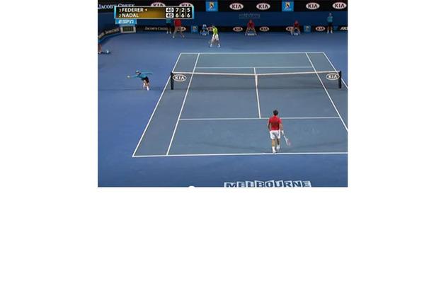 Viral Video: Ball Boy Steals The Show At Federer Vs. Nadal Match