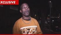 DMX -- Busted by Bad Shellfish, Rushes to Hospital