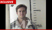 Armie Hammer Arrested -- MUG SHOT After Pot Bust