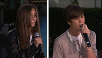 Paris Jackson -- My Heart Throbs for Justin Bieber