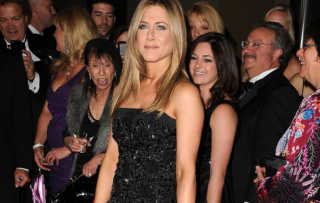 Jennifer Aniston: Sexy Little Black Dress at DGA Awards!