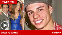 Marc Anthony & Jennifer Lopez -- Reconciliation Talk is BAD News for Casper Smart