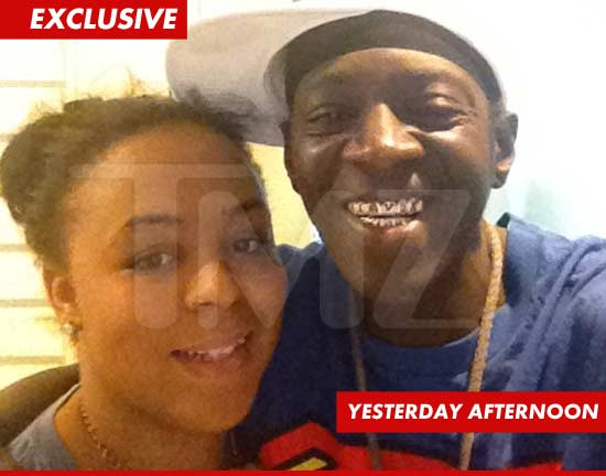 Flavor Flav and his daughter