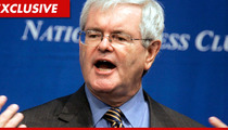 Newt Gingrich -- Sued for Using 'Eye Of the Tiger' at Political Events