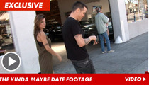 Steve-O and Elisabetta Canalis -- Video PROOF They're Probably Dating
