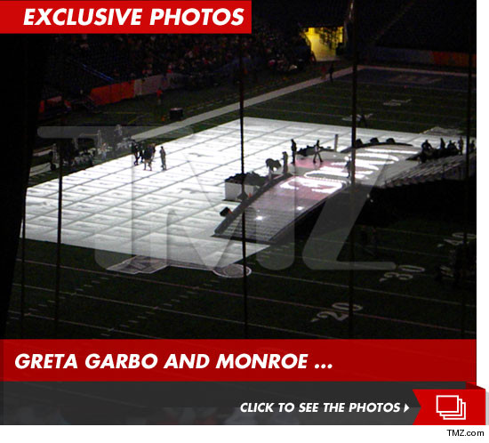 Madonna halftime show set with vogue
