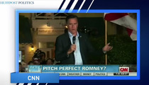 Mitt Romney Butchers 'America the Beautiful' -- Obama Wins Song War