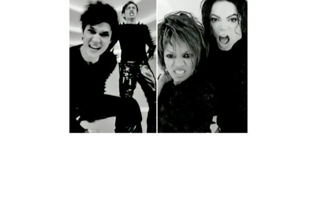 """Glee"" Duo Duplicates Michael & Janet Jackson's ""Scream"" Video!"