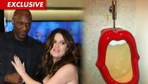 Lamar Odom & Khloe Kardashian -- We Got a Mouth to Pee In, Too!